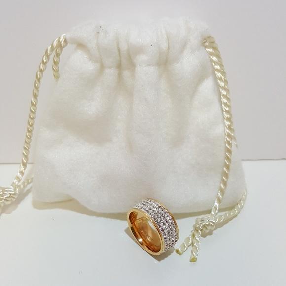 Jewelry - Rose Gold CZ Fashion Ring